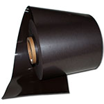 Magnetic tape plain brown uncoated
