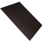 Magnetic foil plain brown uncoated
