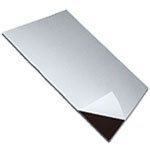 Magnetic foil plain brown self-adhesive
